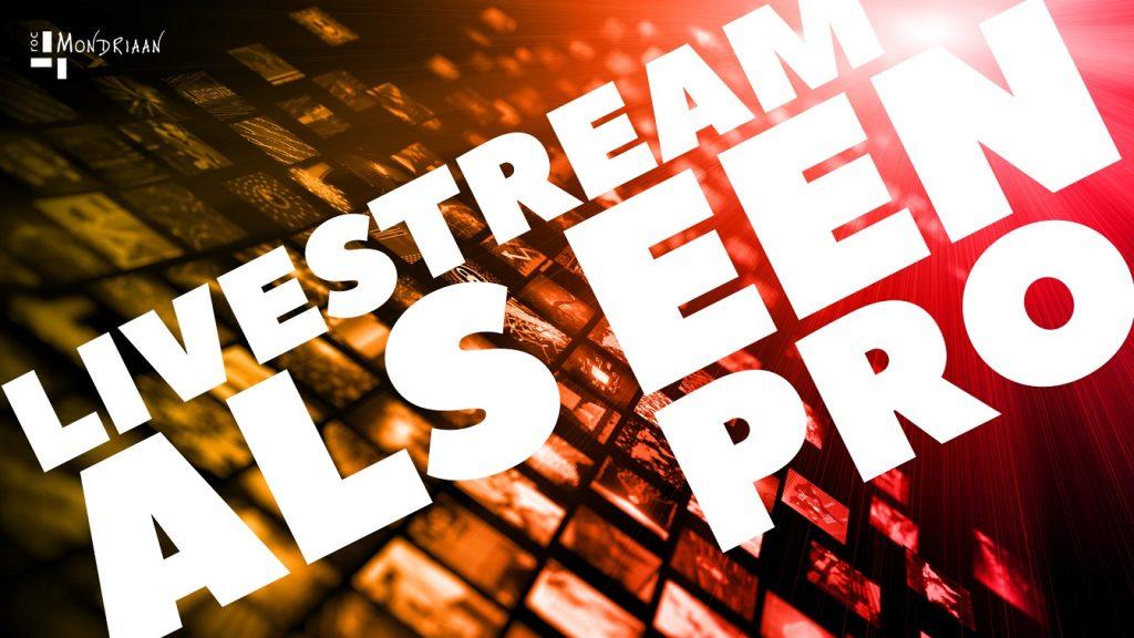 Livestreamen als een pro! Hoe je met OBS en Teams online les kunt geven.
